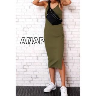 アナップ(ANAP)のANAP  リブワンピース(ロングワンピース/マキシワンピース)