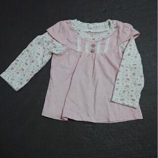 ニシマツヤ(西松屋)の西松屋 花柄 シャツ(Tシャツ)
