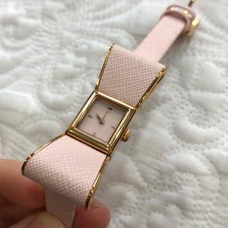 kate spade new york - kate spade ケイトスペード リボン ピンク 時計