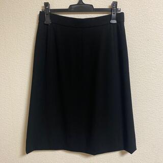 エルメス(Hermes)のHERMESセミフレアースカート(ひざ丈スカート)