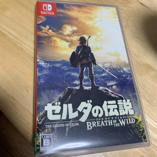 Nintendo Switch(ニンテンドースイッチ)のNintendo Switchゼルダの伝説 ブレスオブザワイルド 中古 エンタメ/ホビーのゲームソフト/ゲーム機本体(家庭用ゲームソフト)の商品写真