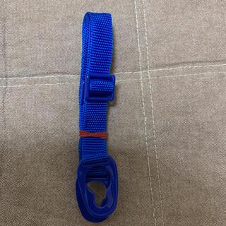 新品未使用 スケーター 水筒 ショルダーストラップ 紐 青色(水筒)
