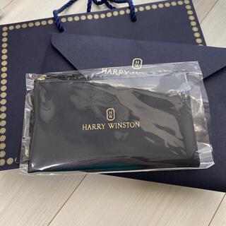 HARRY WINSTON - ハリーウィンストン アフタヌーンティー限定ノベルティ ポーチ カタログ 紙袋