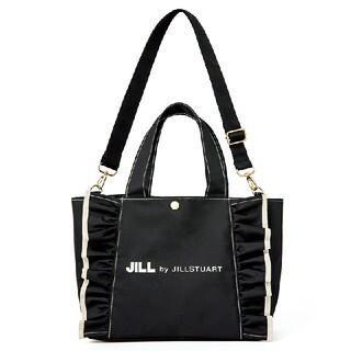 JILL by JILLSTUART - ジルバイジルスチュアート ショルダーストラップ付きフリルトート