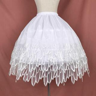 Angelic Pretty - 天使の羽 骨あり 白パニエ レース ゴシックロリータ ゆめかわ やみかわ  原宿