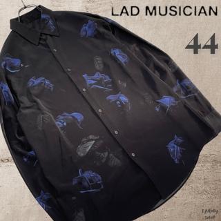 LAD MUSICIAN - LAD MUSICAN STANDARD SHIRT 44 花柄シャツ長袖 美品