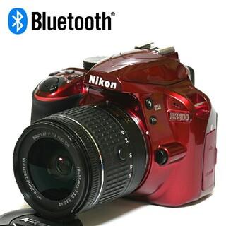 Nikon - 【Nikon】Bluetooth☆ショット数「6340回」D3400レンズキット