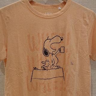 UNIQLO - ユニクロ  スヌーピー Tシャツ【新品・タグ付き】Lsize  ゆうパケット発送