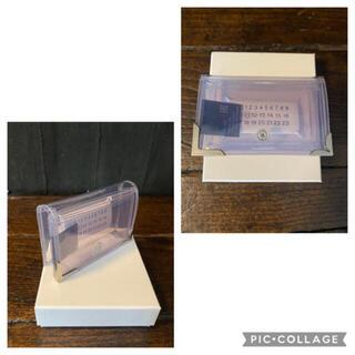 Maison Martin Margiela - マルジェラ pvc ウォレット 財布 新品未使用 正規品