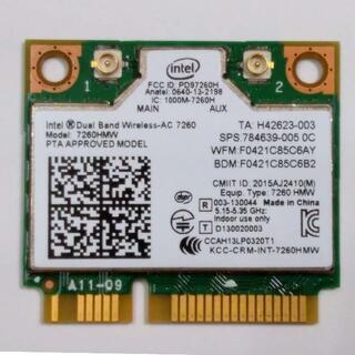 Intel Dual Band Wireless-AC 7260 7260HMW