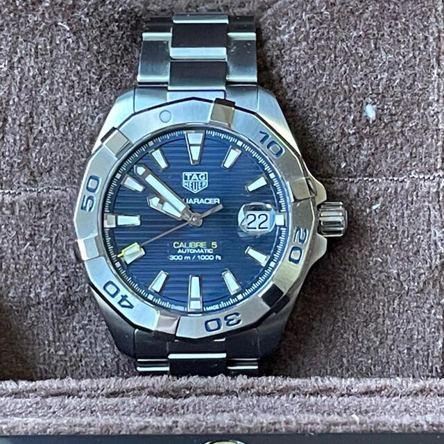 TAG Heuer(タグホイヤー)のタグホイヤー アクアレーサー自動巻/美品/国内正規品 メンズの時計(腕時計(アナログ))の商品写真