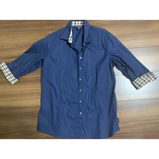 アクアスキュータム(AQUA SCUTUM)のアクアスキュータムAQUA SCUTUM シャツブラウスUK10(シャツ/ブラウス(半袖/袖なし))