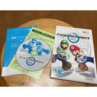 Wii - Nintendo マリオカートWii  任天堂  ソフト