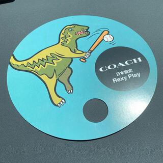コーチ(COACH)のcoach うちわ 非売品 最新版 コーチ レア 2021(ノベルティグッズ)