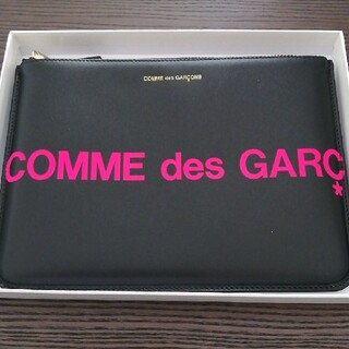 COMME des GARCONS - ★新品★コムデギャルソン/DSMG限定 HUGE LOGO FLUO ポーチ