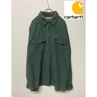 carhartt - 【90s】carhartt コーデュロイボタンダウンワークシャツ