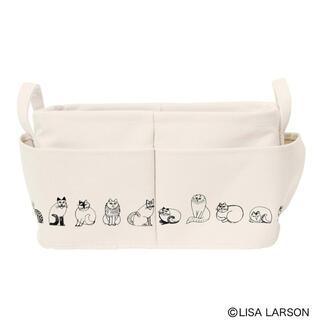 Lisa Larson - リサ・ラーソン外ポケット付き収納ボックス