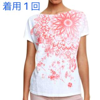 デシグアル(DESIGUAL)の着用一回のみ デシグアル❤️フレンチスリーブTシャツ(Tシャツ(半袖/袖なし))