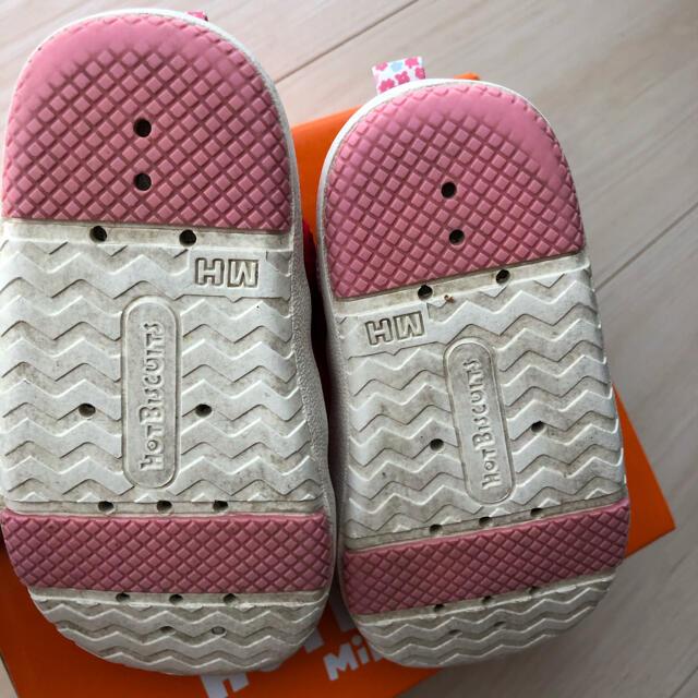 HOT BISCUITS(ホットビスケッツ)のミキハウス ホットビスケット サンダル 13.5 キッズ/ベビー/マタニティのベビー靴/シューズ(~14cm)(サンダル)の商品写真