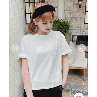レディー(Rady)のRADY♡新品パールポケットT M(Tシャツ(半袖/袖なし))