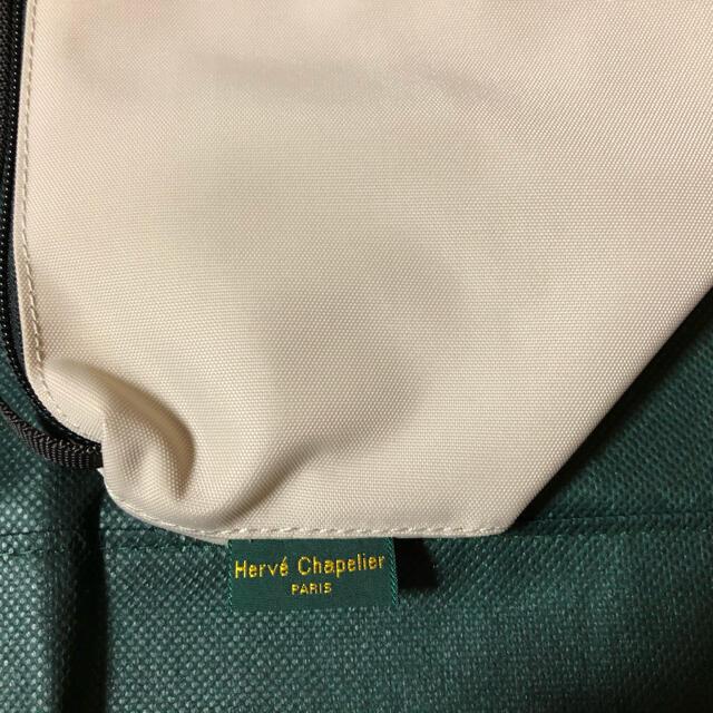 Herve Chapelier(エルベシャプリエ)のエルベシャプリエ グリーンレーベル別注 ミニポシェット ベージュ 新品タグ付き レディースのバッグ(ショルダーバッグ)の商品写真