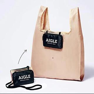 AIGLE - GLOW 6月号付録 エーグル エコバッグ ポシェット
