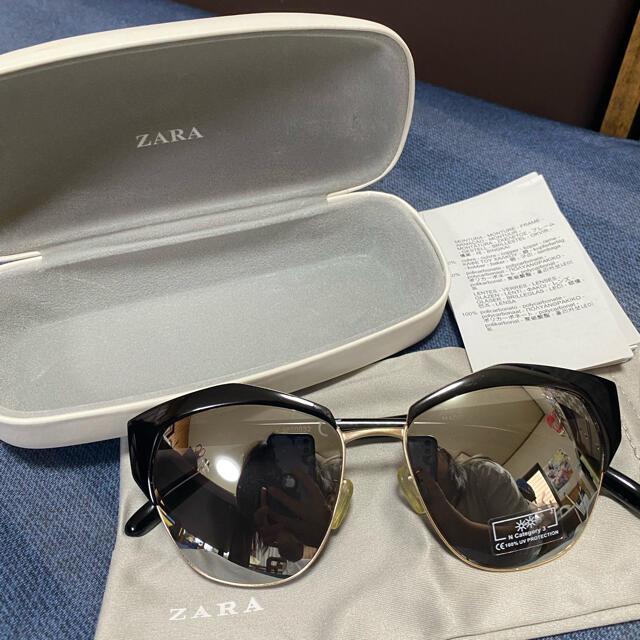 ZARA(ザラ)のZARA サングラス ケース付き レディースのファッション小物(サングラス/メガネ)の商品写真
