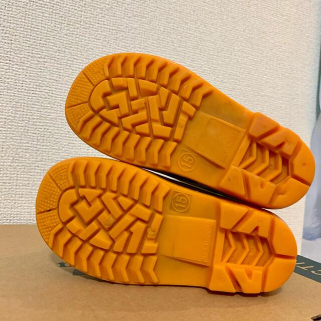 mont bell(モンベル)のモンベル  キッズ ベビー レインブーツ 長靴 キッズ/ベビー/マタニティのキッズ靴/シューズ(15cm~)(長靴/レインシューズ)の商品写真