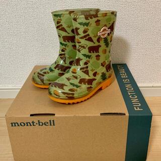 mont bell - モンベル  キッズ ベビー レインブーツ 長靴