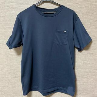 THE NORTH FACE - ノースフェイス ネイビーTシャツ 半袖
