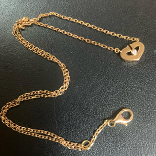 カルティエ(Cartier)のカルティエ cハートネックレス ダイヤ(ネックレス)