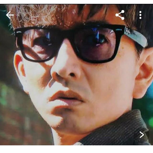 Ray-Ban(レイバン)のRay-Ban ブルーサングラス キムタク着用モデル グランメゾン東京 メンズのファッション小物(サングラス/メガネ)の商品写真