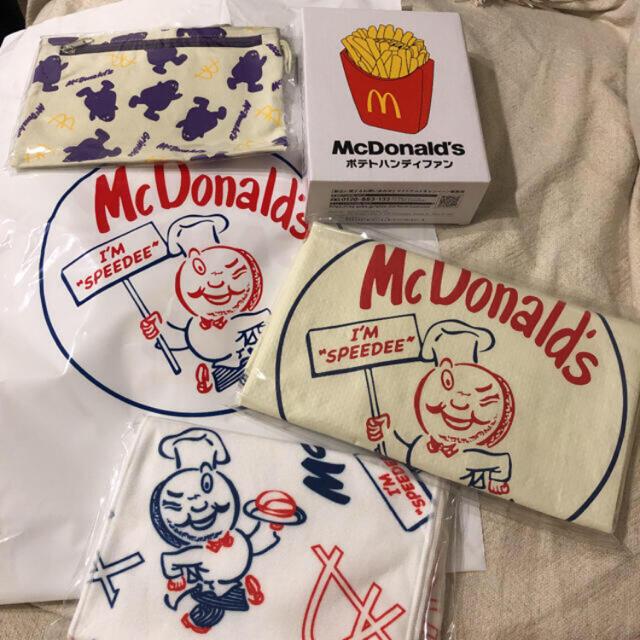 マクドナルド 50周年 福袋セット エンタメ/ホビーのコレクション(ノベルティグッズ)の商品写真