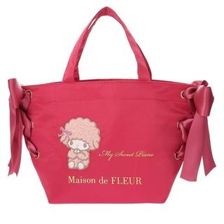 Maison de FLEUR - 【PINK MANIA】あざとMy Sweet Piano サイドリボントート