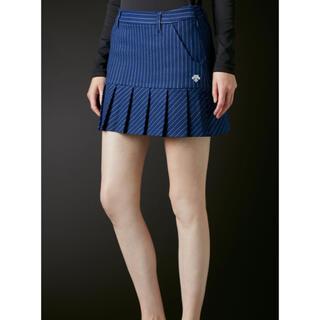 DESCENTE - DESCENTE     裾ボックスプリーツスカート