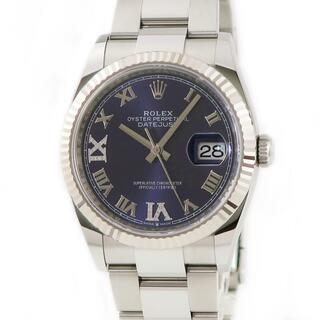 ロレックス(ROLEX)のロレックス  デイトジャスト36 126234 自動巻き メンズ 腕時計(腕時計(アナログ))