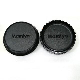 マミヤ(USTMamiya)の美品、マミヤ645ボディーキャップとレンズリアキャップNo1(その他)