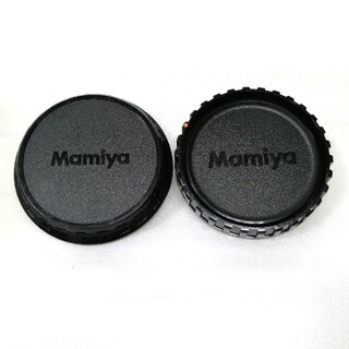 マミヤ(USTMamiya)の美品、マミヤ645ボディーキャップとレンズリアキャップNo2(その他)