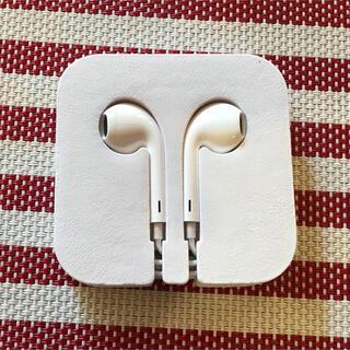 アップル(Apple)の新品 アップル純正イヤホンiPod touch 付属ジャックタイプ(ヘッドフォン/イヤフォン)