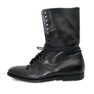 グッチ(Gucci)のグッチ ショートブーツ 40  1/2 E メンズ -(ブーツ)