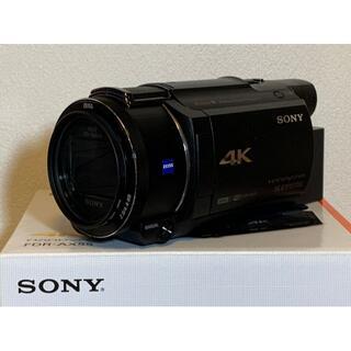 SONY - 【美品セット】AX-55 SONY ビデオカメラ&チャージャー&ソニーバッテリー
