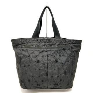 レスポートサック(LeSportsac)のレスポートサック ハンドバッグ - 黒 刺繍(ハンドバッグ)