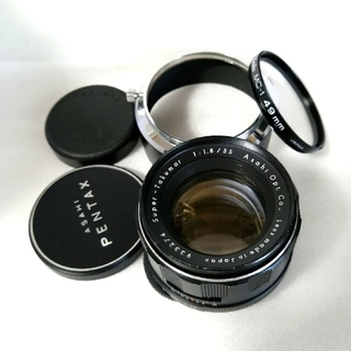 PENTAX - 【前期型】SuperTakumar 55mm F1.8 フルセット PENTAX