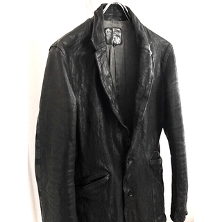ISAMUKATAYAMA BACKLASH - バックラッシュ イタリアンショルダー製品染めジャケット incarnation