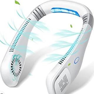 扇風機 首掛け 羽なし ハンズフリー USB充電