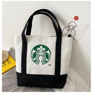 Starbucks Coffee - 【スターバックス海外限定】 日本未発売 トートバッグ  エコバッグ バック 黒色
