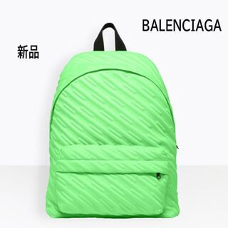 バレンシアガ(Balenciaga)の【新品】BALENCIAGA バレンシアガ バックパック リュック 総柄 ロゴ(バッグパック/リュック)