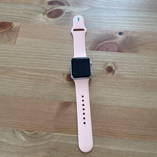 Apple Watch - Applewatch series3 シルバー ホワイト 38