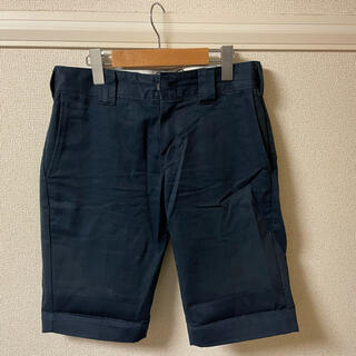 ディッキーズ(Dickies)のディッキーズ Dickies パンツ ショート ハーフ チノ ワーク 濃紺 28(ショートパンツ)