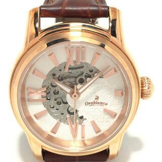 オロビアンコ(Orobianco)のオロビアンコ美品  タイムオラ OR-0059N 白(腕時計)
